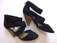 Buy H&M H&M H&M Faux Suede Strappy, Ankle Straps Heels for Damens     3bd994