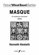 Masque Wind Band Score Learn Play WOODWIND SAX CLARINET FLUTE FABER Music BOOK
