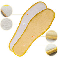 Thick Fluffy  Shearling Soft Insoles Shoes Warm Winter Inserts Boot Pad