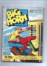 BIG HORN n°8 - Editions SER Lyon. 1958 - TBE