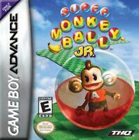 Super Monkey Ball Jr. - 2002 THQ - Nintendo Game Boy Advance GBA