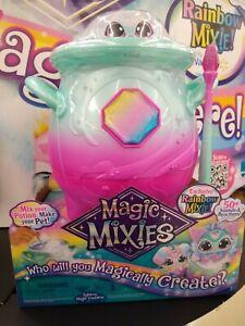 Magic Mixies Magic Cauldron Rainbow Mixie Exclusive RARE - (in hand)