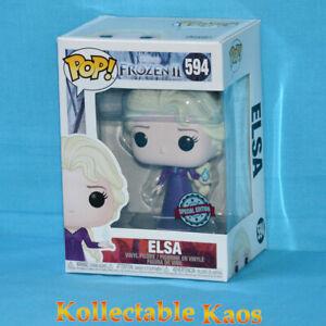 Frozen 2 - Elsa with Nightgown  Pop! Vinyl Figure (RS) #594