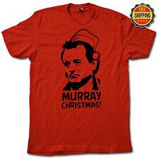 MURRAY CHRISTMAS Tee! FUNNY Bill Murray Caddyshack Life Aquatic Holiday T-Shirt!