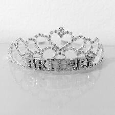 Jewelry Birthday Wedding Woman Gift Personalized Custom Name Diamond Tiara Crown