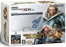 USED Nintendo 3DS LL Console System Monster Hunter 4G Special Pack