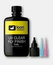 Loon UV Clear Fly Finish Thin Curing Resin 2oz Fly Tying Materials BWCflies