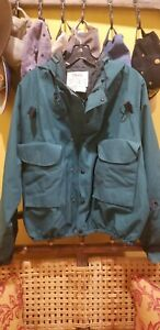 Vintage 90s ORVIS Fly Fishing/Wading Gore-tex Jacket. Made in USA Sz.L