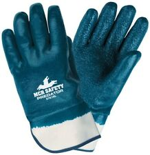 Mcr Safety Predator 9761Rs Rough Finish Nitrile Coated Gloves, Small, 12 Pair