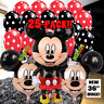 NEW Mickey Mouse Birthday Party Balloons Balloon Minnie supplies boy baby shower