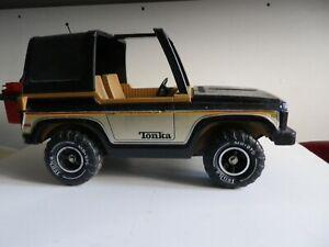 Tonka 4X4 Ford bronco vintage avec accessoires années 70