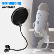Pop Filter Microphone Windproof Cover Windshield For Blue Yeti Pro Windscreen