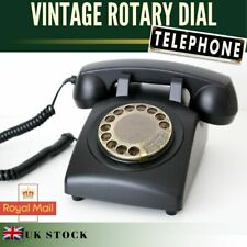 Rotary Dial Old Style Telephone Home Art Deco Landline House phone Gift Idea