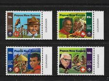 PAPUA NEW GUINEA 1982 Boy Scouts, Scouting, No.2, mint set of 4, MNH MUH