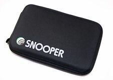"New Snooper Sat Nav Accessories Soft Lined Protective Zip Up 7"" Hard Case Holder"