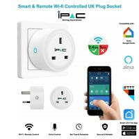 Smart Home Plug UK WiFi Socket 13A 16A Alexa Echo Wireless Remote iOS Android
