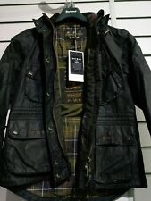 brompton x barbour bromley jacket sage green size 14