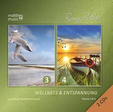 Wellness & Entspannung, Vol. 3 & 4 [Gemafreie Entspannungsmusik] 2 CDs Gemafrei