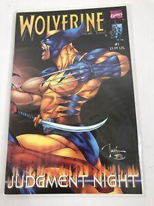 Wolverine Shi Judgement Night #1 High Grade Crusade Comics Tucci HI FI