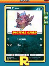 Zorua - Shiny SV25 - Pokemon TCG Online (DIGITAL ptcgo in Game Card)