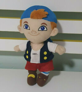 CUBBY PLUSH TOY JAKE AND THE NEVERLAND PIRATES CHARACTER TOY DISNEY 21CM