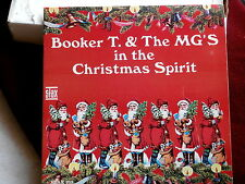BOOKER T & THE MG'S~IN THE CHIRISTMAS SPIRIT~MEGA RARE~PROMO~STAX 713~ SOUL  LP
