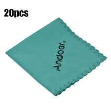20PCS Andoer Cleaning Tool Lens Cleaner Cloth For iPhone Canon Nikon DSLR X5K0