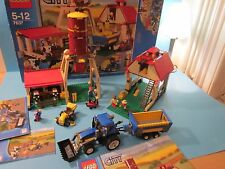 Lego 7637. City Farm. Complete with Instructions. 2009 City Farm Release.