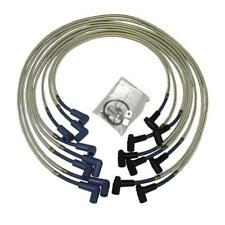 Taylor Spark Plug Wire Set 80606; SST 8mm Blue 90° HEI (Male) for Chevy V8