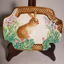 Vintage Royal Norfolk Bunny Plate Easter