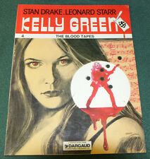 KELLY GREEN #4 THE BLOOD TAPES FINE DARGAUD 1984