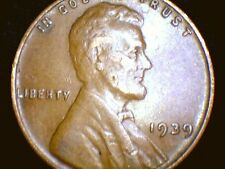 1939P Lincoln Wheat Penny Cent, Nice Coin!