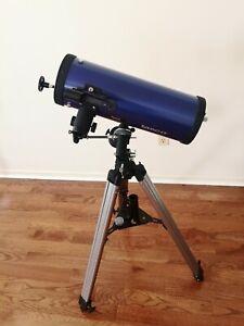 Tasco Galaxsee telescope 46-114375 D=114mm F=500mm Coated Optics