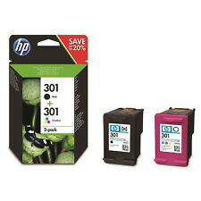 HP 301 Combo Ink Cartridges - Black/Tri-color