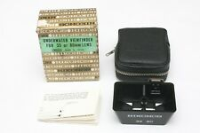 Vintage 35mm and 80mm frame finder / viewfinder for Nikon Nikonos camera