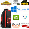 FAST Quad Core i7 GTX 1650 Gaming PC 16GB RAM 2TB Windows 10 Desktop Computer