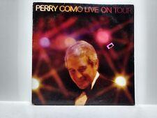 Perry Como-Live On Tour (1981) -1LP Record                                 lp341