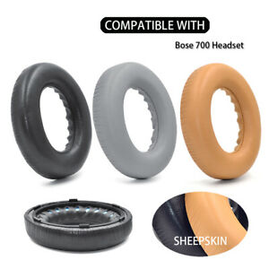 Sheepskin Leather Ear pads cushion cover fit Bose 700, NCH700, NC700 Headphones