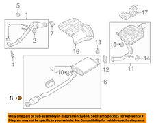 KIA OEM 15-18 Sedona 3.3L-V6 Exhaust-Front Pipe Nut 1318012000