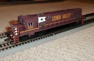 Bowser Trains HO Executive Line Alco C628 Lehigh Valley Tuscan #630 with Kadees