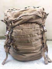 USMC FILBE Main Pack with Suspension System Coyote Shoulder Straps Frame Belt