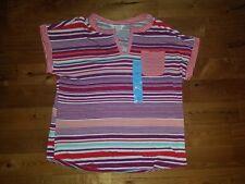 NWT Women's LIZSPORT By Liz Claiborne Luxury Teaberry Straw Shirt Size Large L