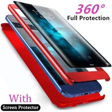 360° HANDYHÜLLE für Xiaomi Redmi Note 7 6 Pro/Max2 Case Taschen SchutzHülle+Foil