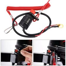 Off Boat Outboard Engine Safety Tether Motorcycle Kill Stop Switch for Yamaha