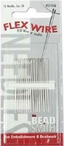 Beading Needles BEADSMITH Size 10 for FLEX WIRE 0.10 Wire or smaller