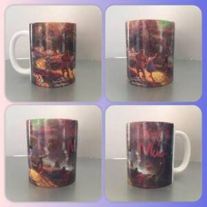 personalised mug cup the wizard of oz dorothy toto vintage classic movie legend