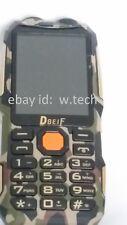 Dual SIM FM radio tv unlocked rugged mobile phone camouflage  power bank phone