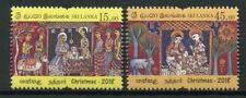 Sri Lanka 2018 MNH Christmas Nativity 2v Set Stamps