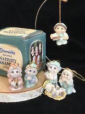 Dreamsicles Christmas Nativity Ornament 6-piece Set, Giftco Polystone, Whimsical