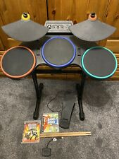Guitar Hero World Tour Drum Kit Drums Controlador Inalámbrico & juego PS3